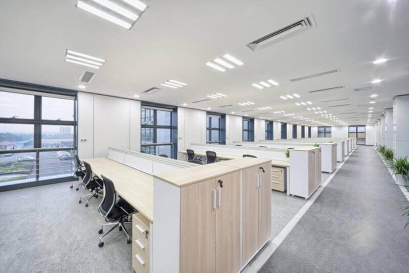 luminaria led oficinas