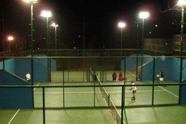 iluminacion led para canchas de tenis y padle